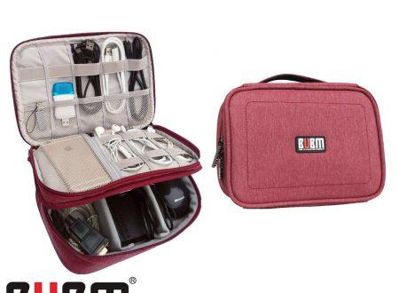 BUBM Travel Gear Accessori per elettronica Organizer Power Bank Storage Bag